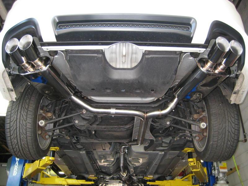 Best Acura TL Exhaust System Page AcuraZine Acura - Acura cl type s performance parts
