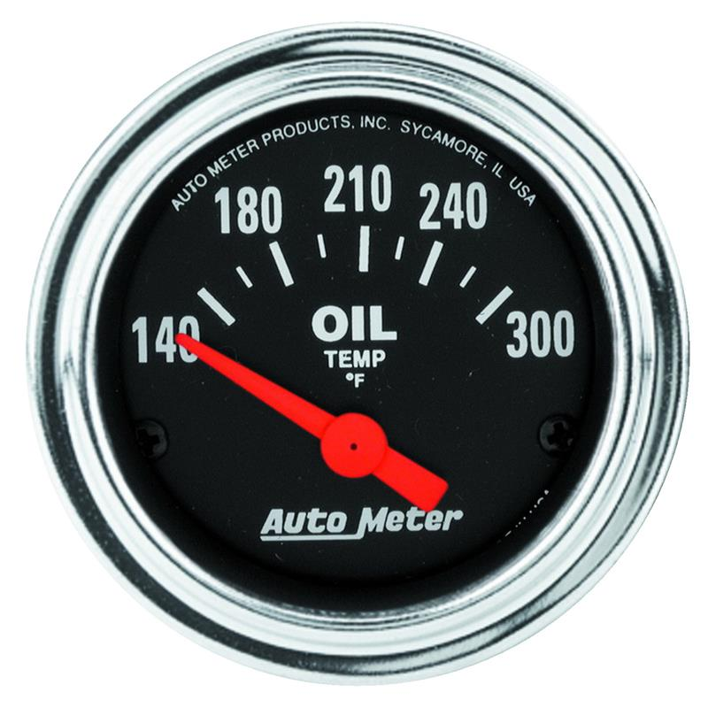 Traditional Power Meter : Auto meter traditional chrome gauges mvp