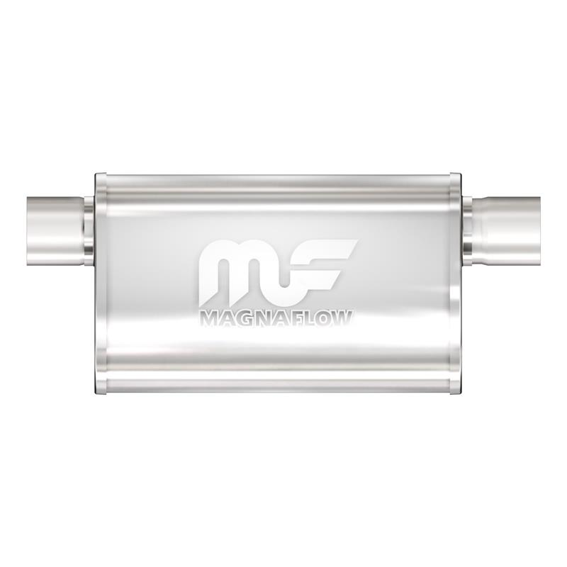 MagnaFlow Universal Muffler Satin Stainless 12568