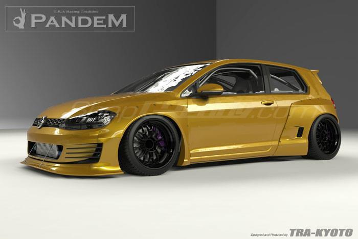 Greddy X Pandem Vw Golf Mk7 Aero Kit Volkswagen Moore Automotive