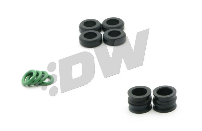 DeatschWerks/ 1200cc//min Low Impedance Fuel Injector, Set of 4 42M-02-1200-4