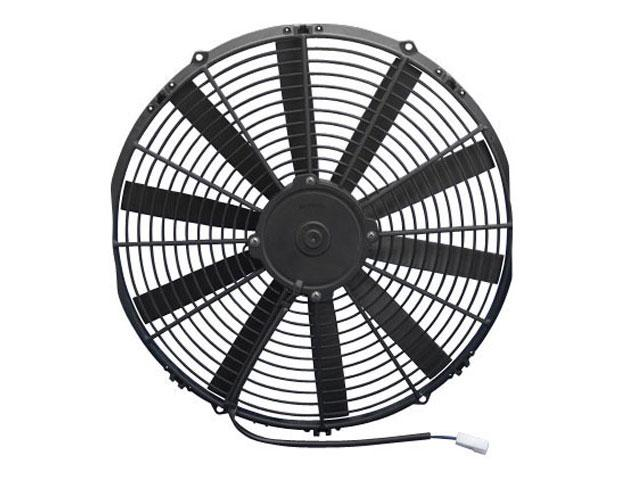 Spal 30100374 Pusher Fan 10In ; For Use W// 15Amp Fuse @ 13V