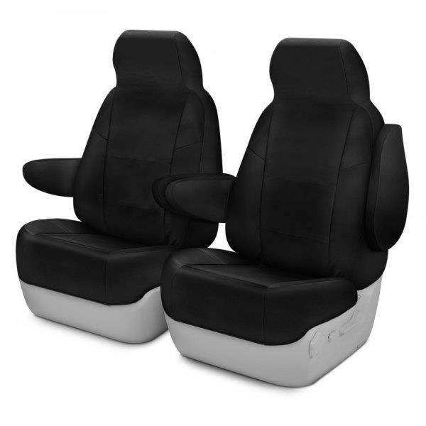 Coverking Cordura Ballistic Front Seat Covers For Acura RSX Black - Acura rsx seat covers