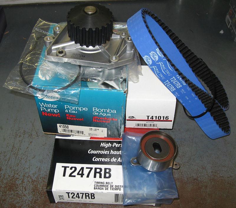 Gates Racing Timing Belt Kit For Acura Integra GSR Type - Acura integra timing belt