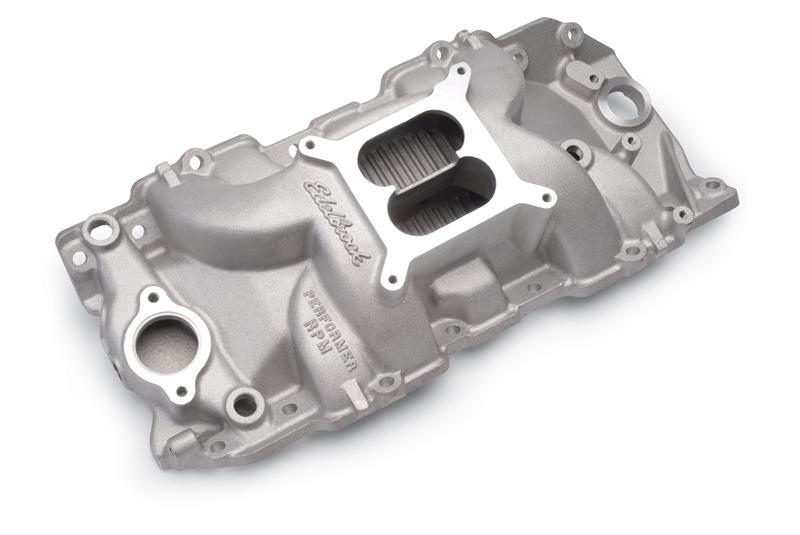 383 Edelbrock 7186 Performer RPM Intake Manifold 400 Mopar 361