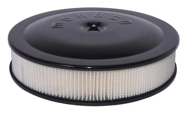 MOROSO 65945 Flat Bottom Racing Air Cleaner Holley 4500 Carbs With 7 5//16 in.