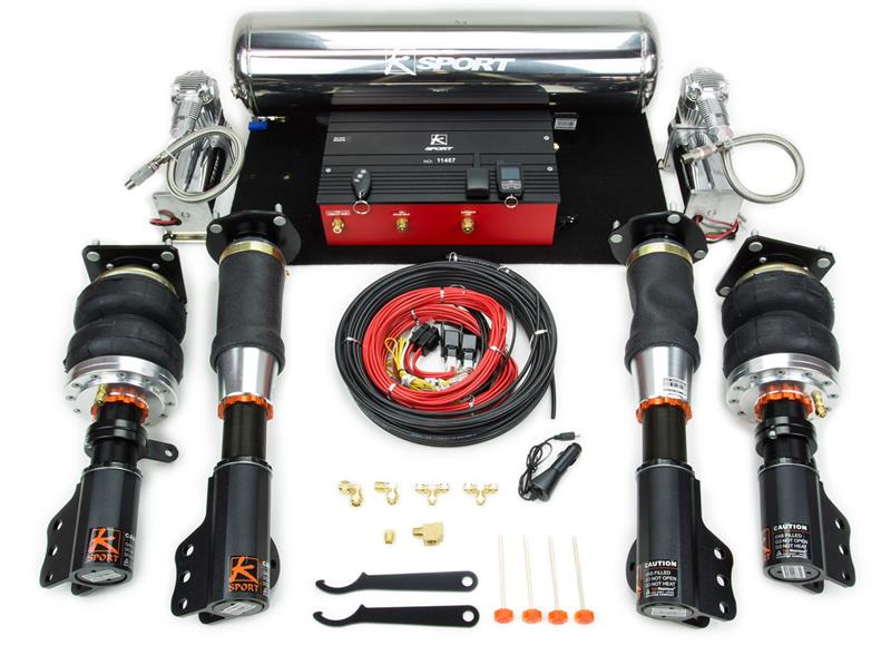 ksport airtech pro air suspension system rh mvpmotorsports com Air Ride Plumbing Diagram Truck Air Ride Suspension Diagram