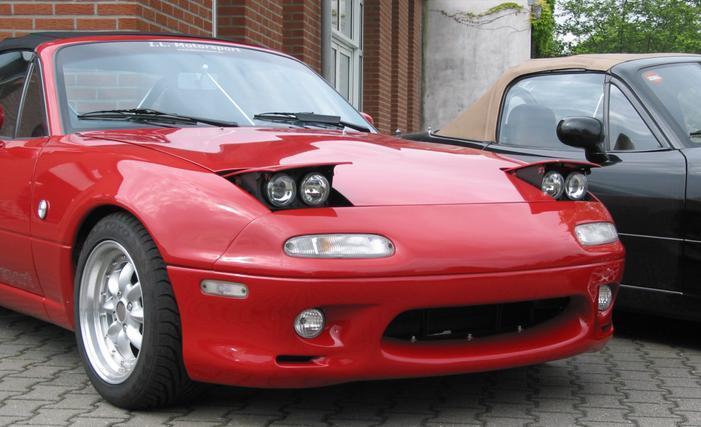 Low Pro Miata Headlights Low Profile Headlight Kits