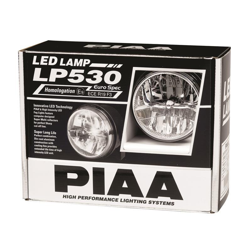 PIAA 12-05302 LP530 Yellow 3.5 Single LED Ion Driving Light