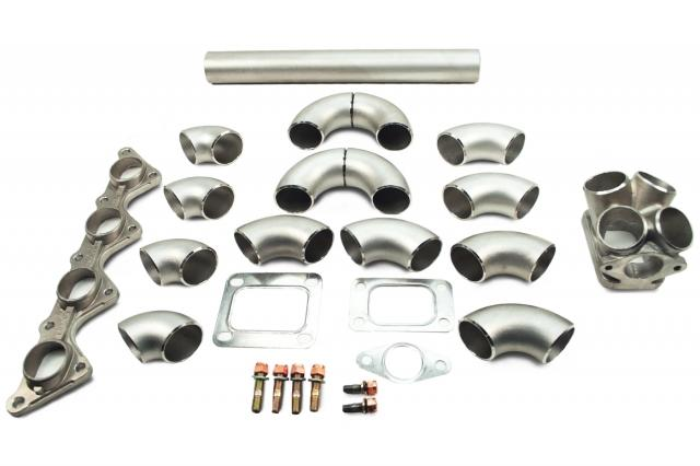 Tre turbo manifold diy kits universal oj performance images may not be vehicle specific for display purposes only solutioingenieria Gallery