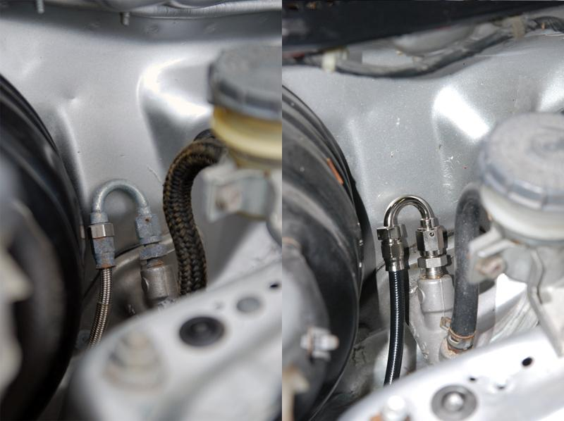 K-Tuned Stainless Clutch Line Kit for Honda B-Series