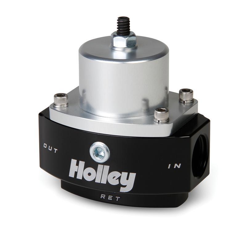 1:1 HOLLEY 12-879 return style fuel pressure regulator 3//8 npt Boost Reference