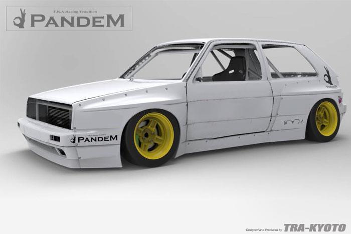 Greddy X Pandem Vw Golf Mk2 Aero Kit Volkswagen Moore Automotive