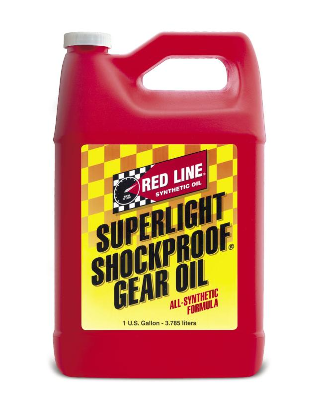 58505 - Red Line Motorcycle - ShockProof Gear Oil
