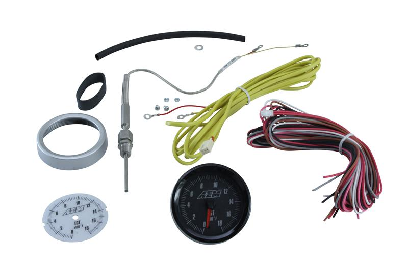 AEM 35-3411 Replacement Power Cable UEGO Boost Pressure Any Analog Gauge