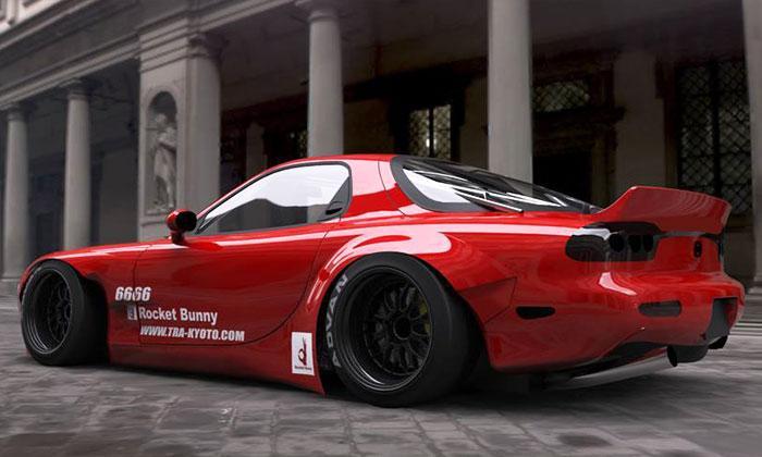 Greddy X Rocket Bunny Fd3s Ver 2 Aero Kit Mazda