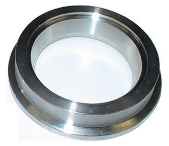 """5/"""" Torque Solution Stainless Steel V-Band Clamp /& Flange Kit 127mm"""