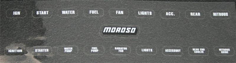 Moroso 74134 Switch Panel