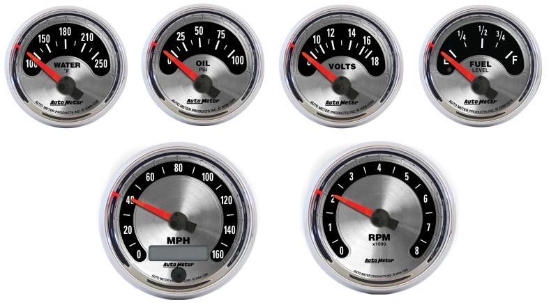 Auto Meter Street Rod - American Muscle Gauges ...