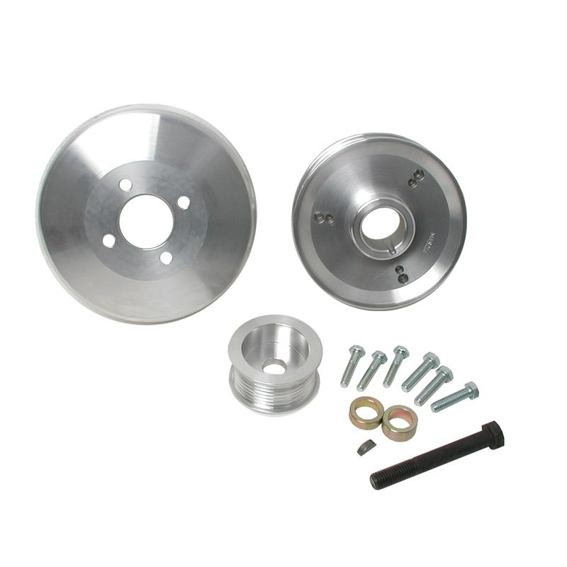 BBK Performance Underdrive Pulley System; 3 Piece Kit, 8 Rib FORD ...