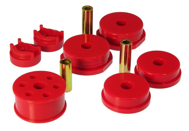 Prothane 13-510 Red 4 Cylinder Rear Engine Mount Insert Kit