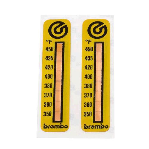 Brembo Temperature Stickers Universal Automotivedna Weathertech