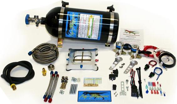 Ny-Trex 110022 Split-Shot 4500 Dual Cross Bar Plate Nitrous System