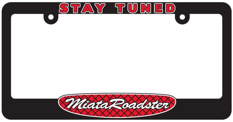 MR-LPF - MiataRoadster license plate frames - MiataRoadster - High ...