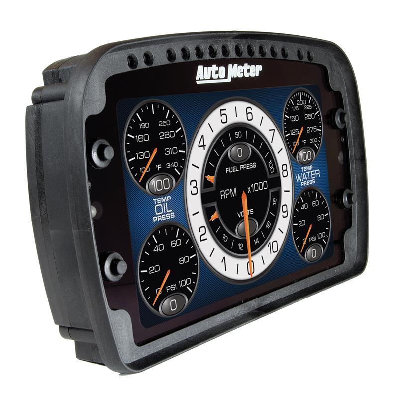 6021 - auto meter lcd digital dash - throtl