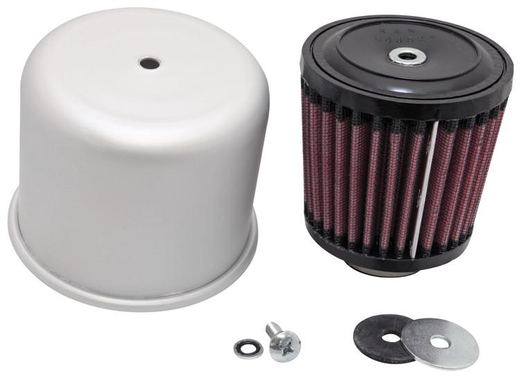 K/&N RE-0280 Universal Round Tapered Rubber Air Filter