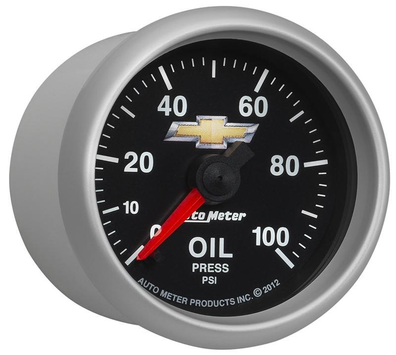Auto Meter COPO Camaro Series; Oil Pressure Gauge; Incl