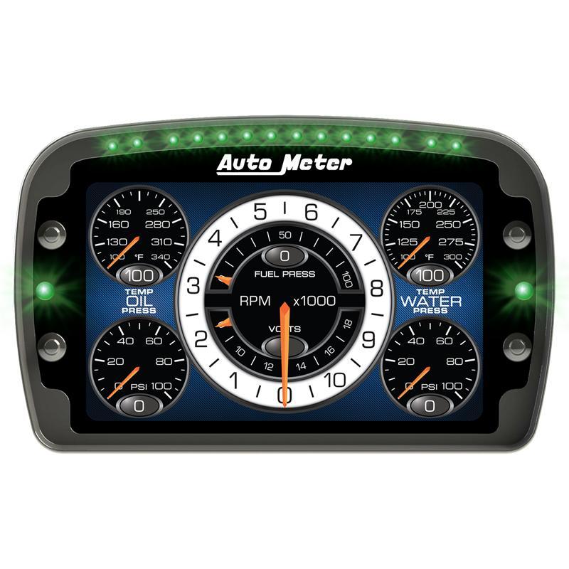 Universal Auto Gauges : Auto meter lcd digital dash mvp motorsports usa
