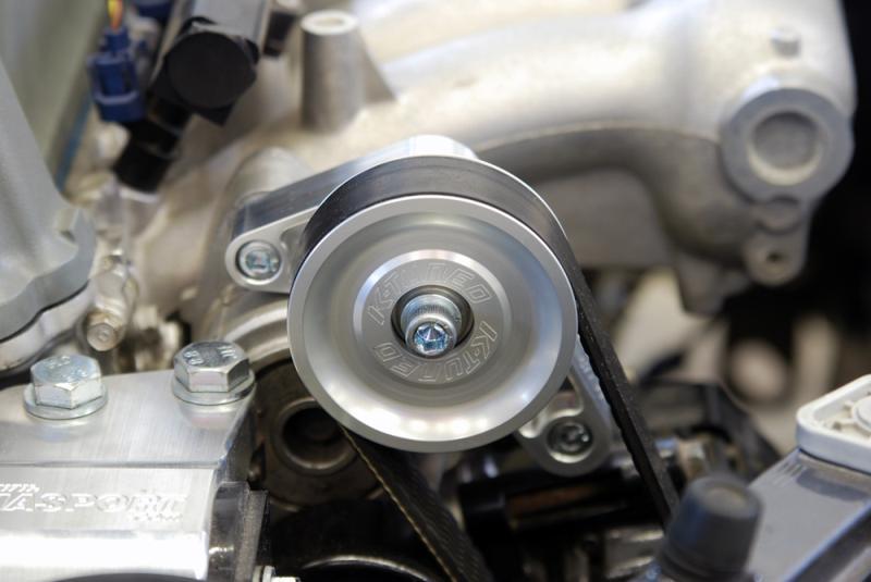Adjustable Pulleys : K tuned pulley kit a c p s eliminator adjustable garage