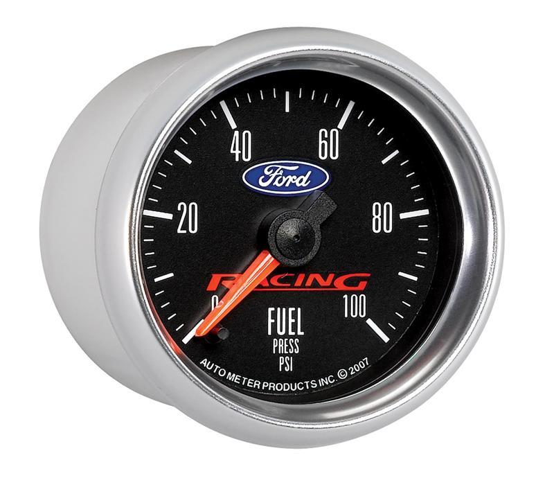 auto meter ford racing series fuel pressure gauge incl. Black Bedroom Furniture Sets. Home Design Ideas