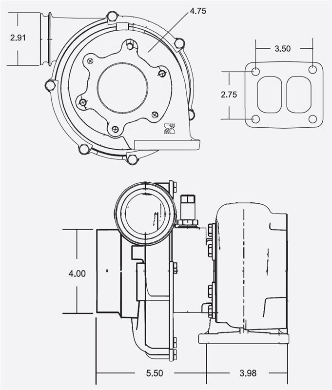 53299887115 - borgwarner airwerks turbo - k29 series