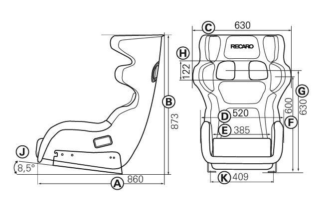 6 point seat belt