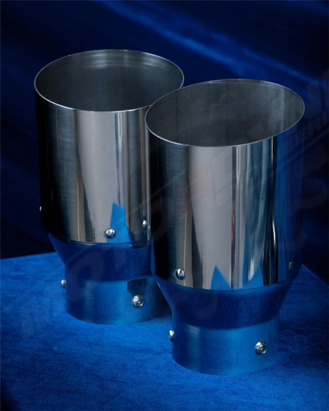 MD-4 5 BS - Motordyne Exhaust Tips - Performance Auto Parts