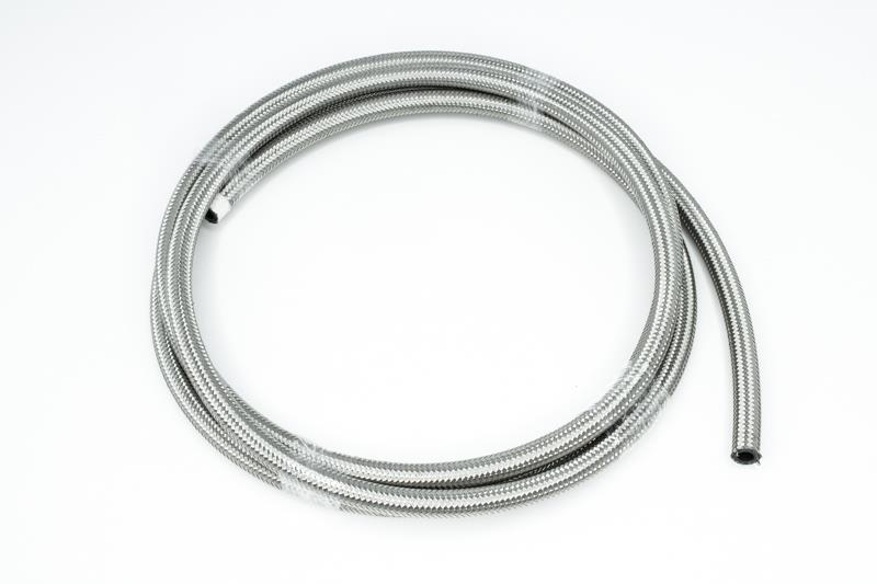 "Turbo Oil Feed Line Hose 20/"" Steel Braided 4-4AN 90 Degree x Straight PTFE USA"