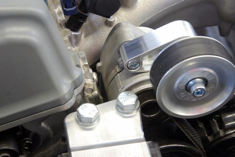 K-Tuned Pulley Kit - A/C & P/S Eliminator Adjustable - garage16