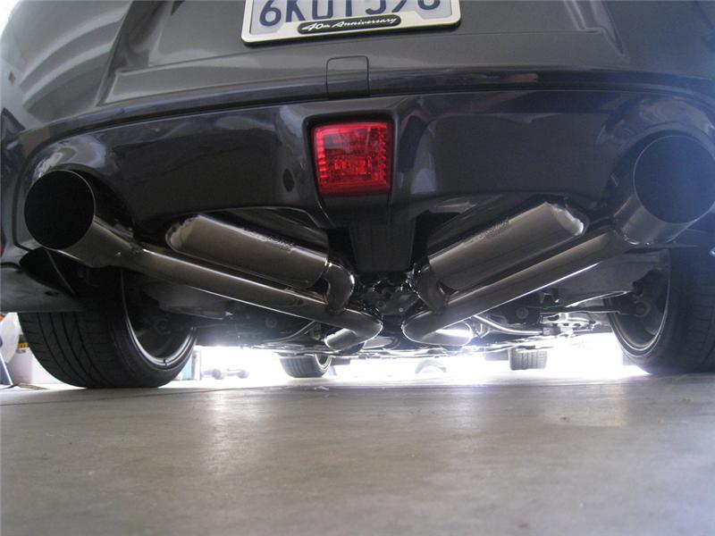 Nissan Maxima Motordyne Shockwave Exhaust at JM Auto Racing