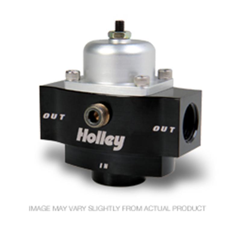 HOLLEY 12-879 return style fuel pressure regulator 3//8 npt Boost Reference 1:1
