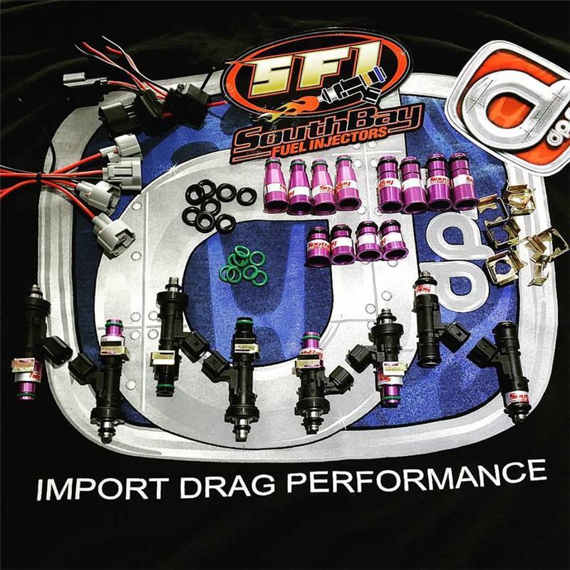 SFI-1600cc ALL FUEL - South Bay Fuel injectors - Import DPS