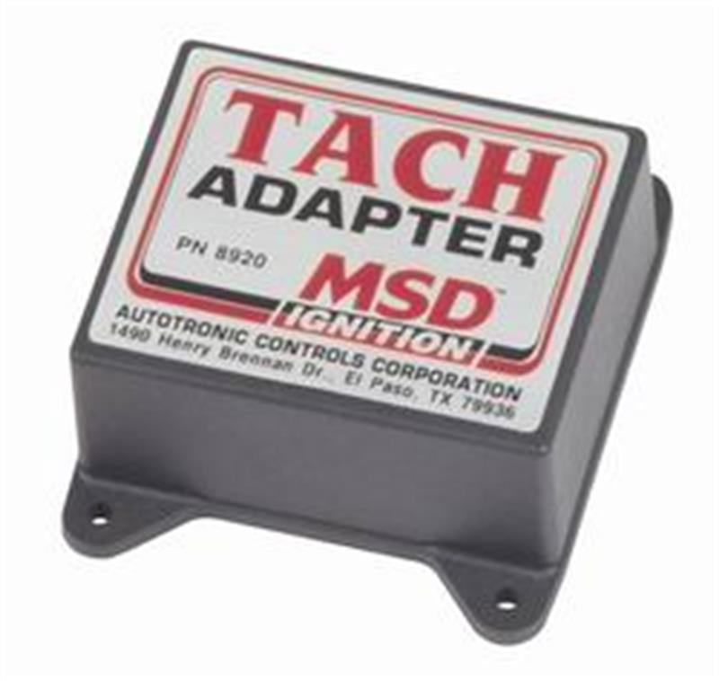 MSD 8911 Dual Ignition Tachometer Splitter Adapter MSD Ignition