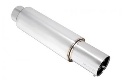 """MEGAN RACING Universal Stainless Steel Muffler 2.4/""""ID MR-MU-MVO"""