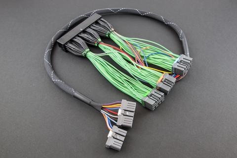boomslang plug n play harness greddy e manage blue mvp Wiring Harness Kit images may not be vehicle specific for display purposes only