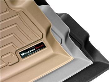 WeatherTech 44146-1-4 FloorLiner, Front//Rear, Black