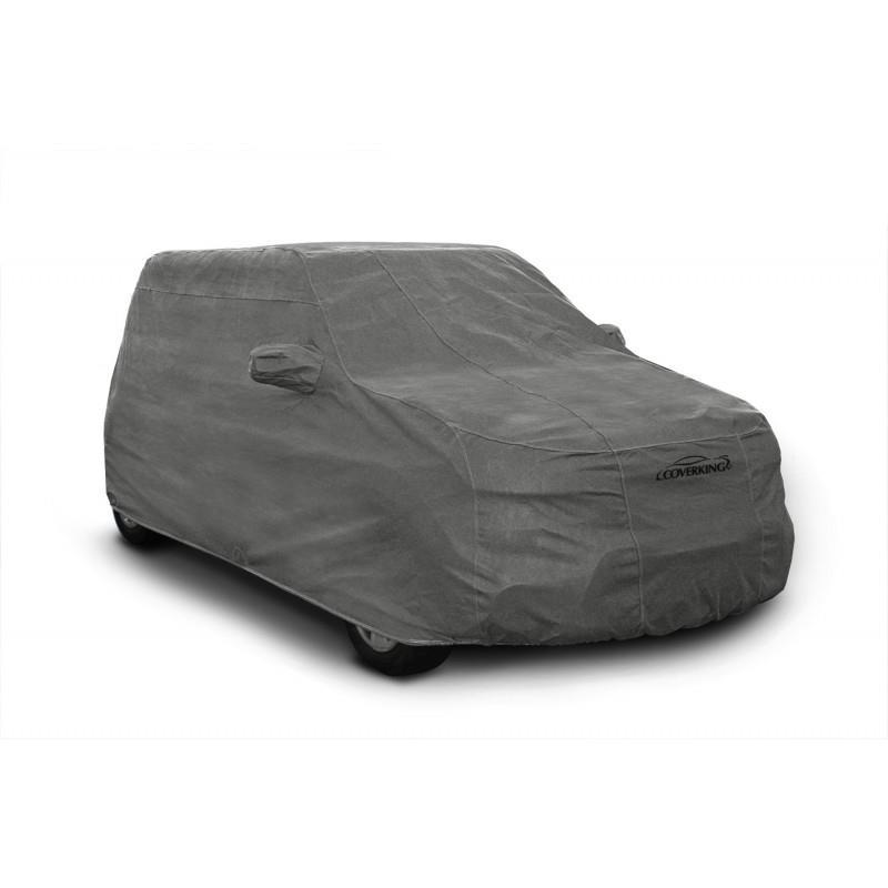 2015 Mercedes SL400 SL550 SL63 SL65 Breathable Car Cover w//Mirror Pockets Gray