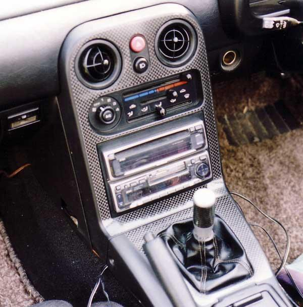 Fuel Induction Service >> Garage Vary carbon fiber interior components MAZDA - MiataRoadster - High-performance service ...