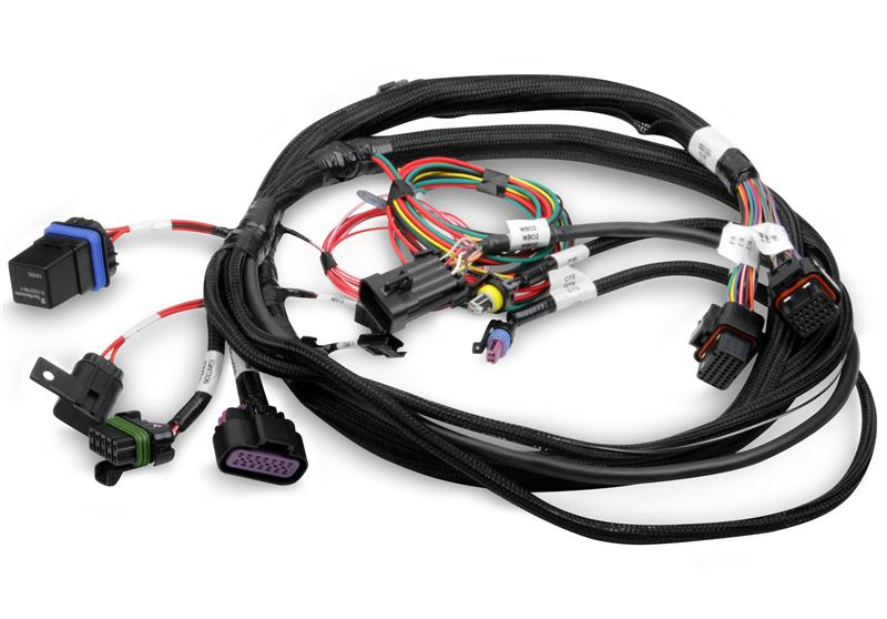 Holley 558-400 Connector J1A//B Input//Output Auxiliary Harness