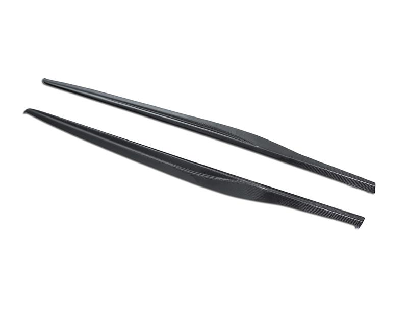 AP-CLA-615 - Agency Power Carbon Fiber Side Skirts - garage16